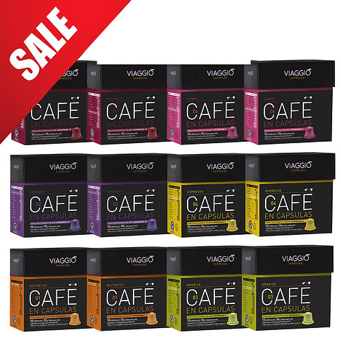 【Mega Sales】Mix 700 | Coffee Capsules Pack(120 capsules) VEpackage-03