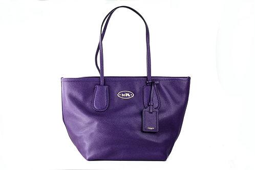 COACH | Leather Tote Bag Purple 33915.LIVIO