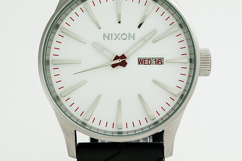 Nixon   Sentry Black/ Rubber Watch