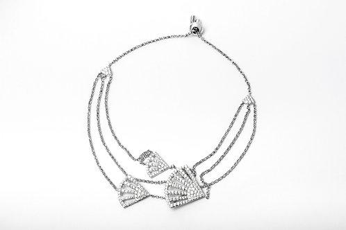 APM Monaco.   FLAMENCO Silver Bracelet