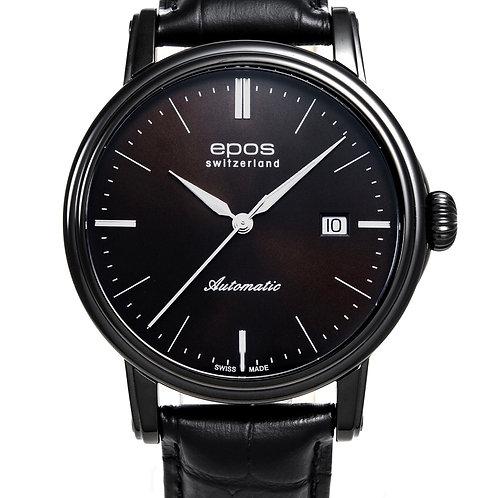 Epos Black Coating Automatic men's Watch