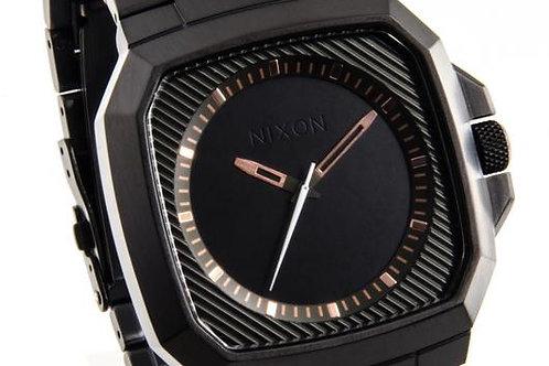 Nixon | The Deck Black/ Steel Watch
