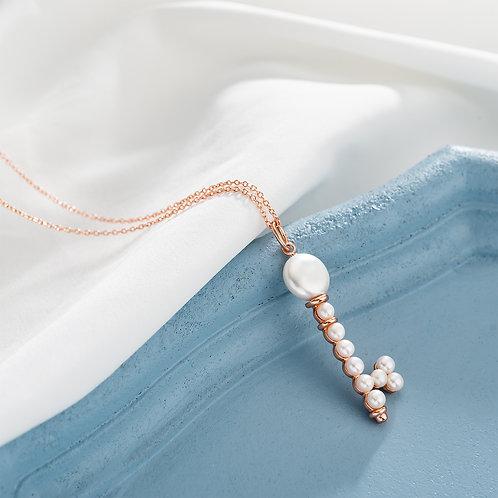 Paul Vallette - 淡水珍珠鑰匙項鍊