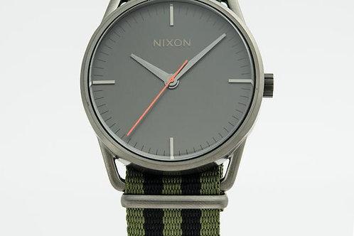 Nixon   The Mellor Grey/Textile Watch