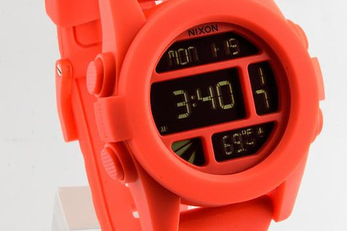 Nixon | The Unit Digital/ Orange Rubber Watch