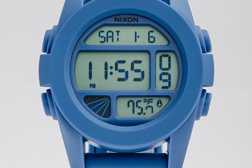 Nixon | The Unit Digital/ Blue Rubber Watch
