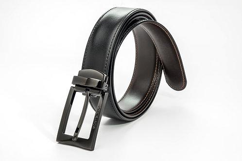 MONTBLANC | Contemporary Belt Black/Brown Reversible Belt 105080