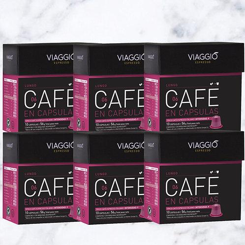 6. Lungo | 60 Coffee Capsule Compatible with Nespresso®