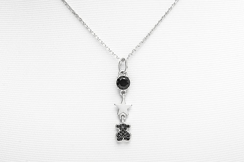 TOUS   Silver Join Necklace