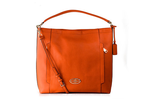COACH    Scout Hobo In Pebble Leather Bag F34311