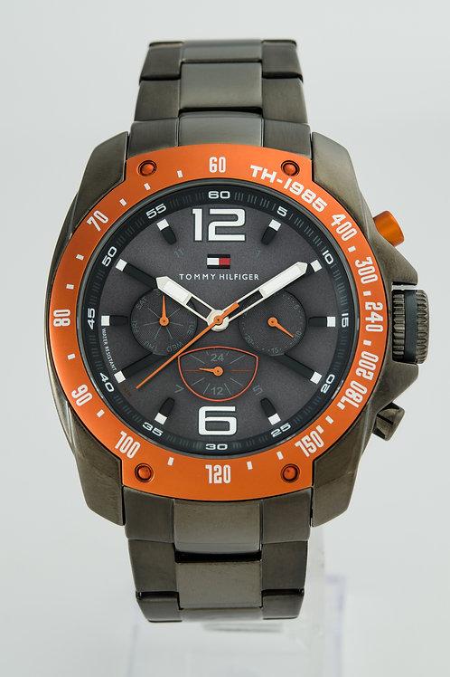 Tommy Hilfiger | Grand Prix Oragne Bezel Mens Watch