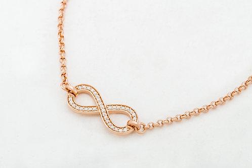 THOMAS SABO |  Rose Gold Eternity of Love Bracelet