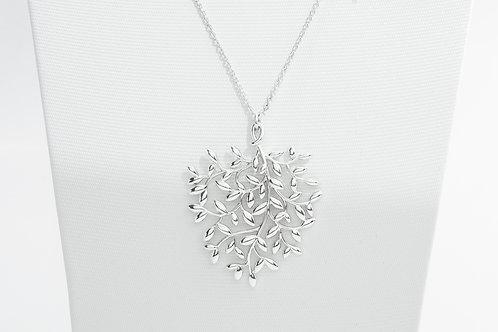 TIFFANY & Co. |  Paloma Picasso Olive Leaf Pendant Pearl Bracelet