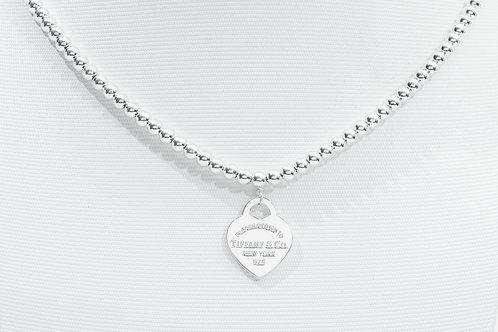 TIFFANY & Co.   Return to Tiffany Bead Necklace