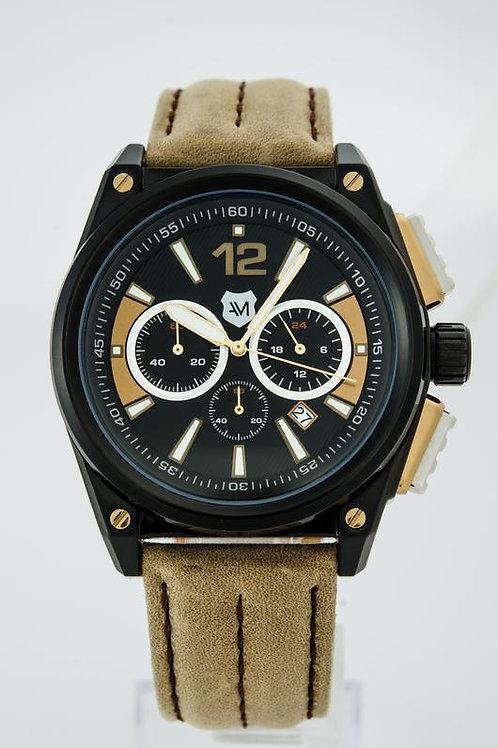 ANDREW MARC | Men's G III Racer 3 Hand Chronograph Watch