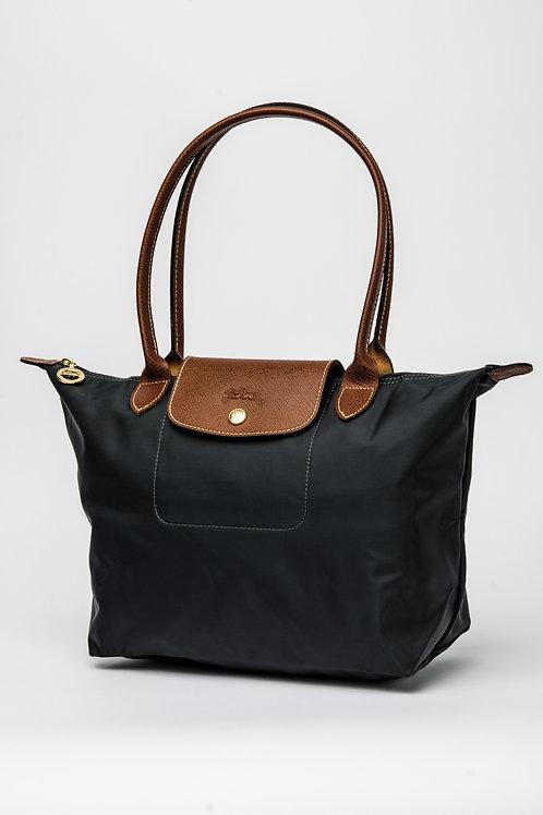 LONGCHAMP   Le Pliage Neo Tote Bag Small (Gunmetal)