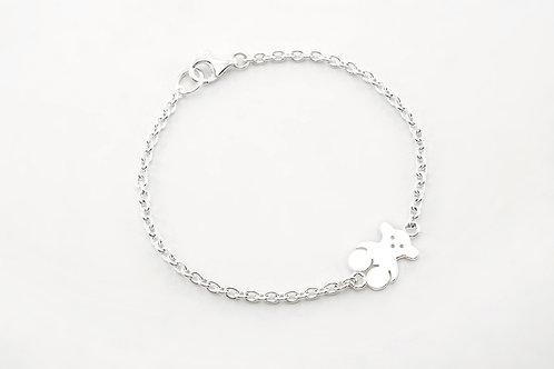 TOUS | Silver Bear Bracelet