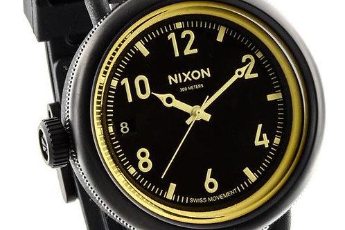 Nixon | The October Black/ Rubber