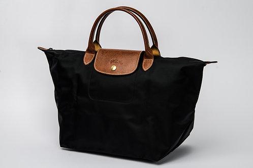 LONGCHAMP | Le Pliage Nylon Short Handle Bag (Medium)