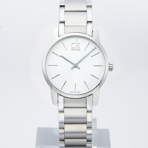 Calvin Klein | City Silver Dial Stainless Steel Ladies Watch