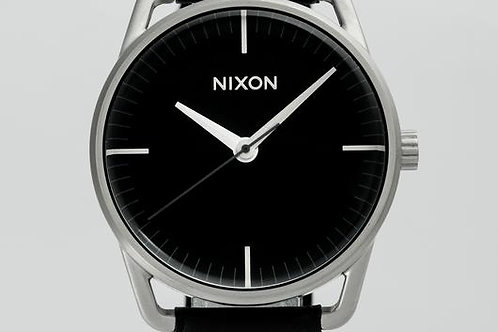 Nixon | The Mellor Black/Leather Watch