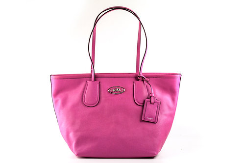 COACH   Leather Tote Bag Pink 33915-SV-FX