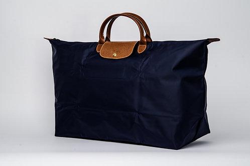 LONGCHAMP | Le Pliage Nylon Short Handle Bag Navy Blue  (XL)