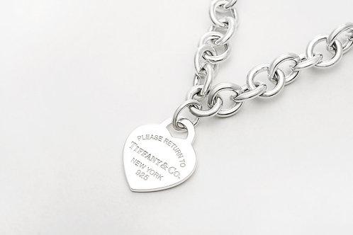 TIFFANY & Co. |  Return to Tiffany Heart Tag Necklace