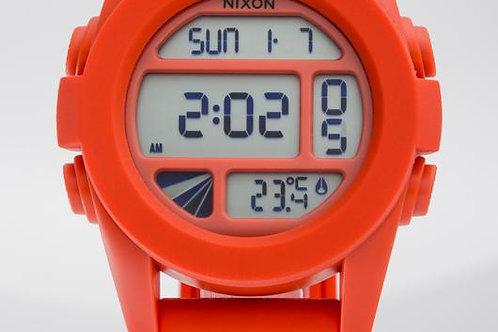 Nixon | The Unit Digital/ Red Rubber Watch