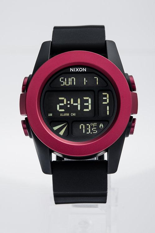 Nixon   The Unit Digital/ Black Rubber Watch