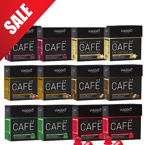 【MEGA SALES】Mix Special Selection | Coffee Capsules Pack(120 capsules) A-100-PK-