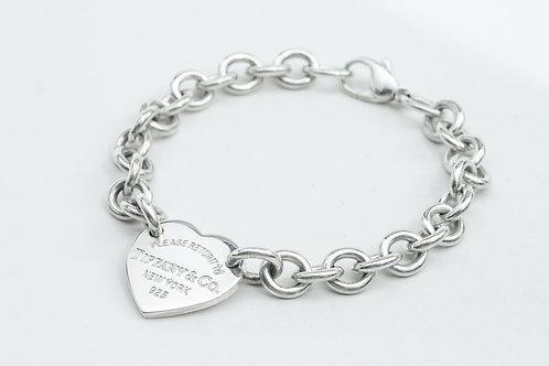 TIFFANY & Co. | Heart Tag Bracelet