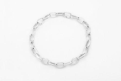 GUCCI | chain bracelet in silver