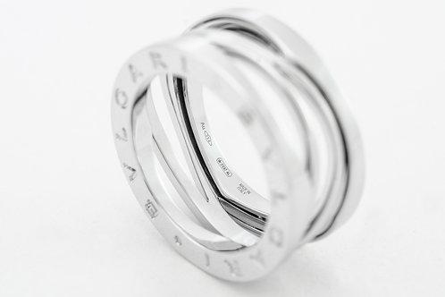 BVLGARI | B.Zero1 18K White Gold 3-Band Ring