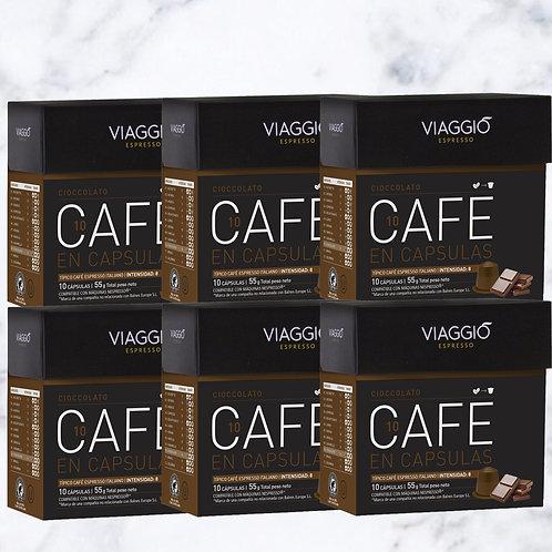 10. Ciccolato   60 Coffee Capsule Compatible with Nespresso®