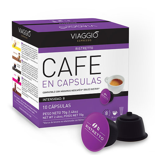 01. Ristretto | 10 Coffee Capsules Compatible with Dolce Gusto®