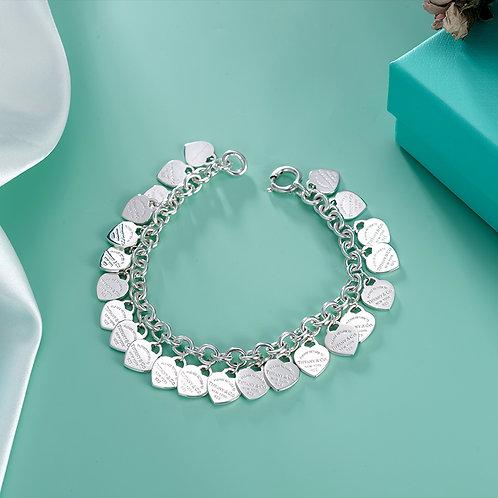 TIFFANY & Co. |  Return to Tiffany Multi�Vheart Tag Bracelet