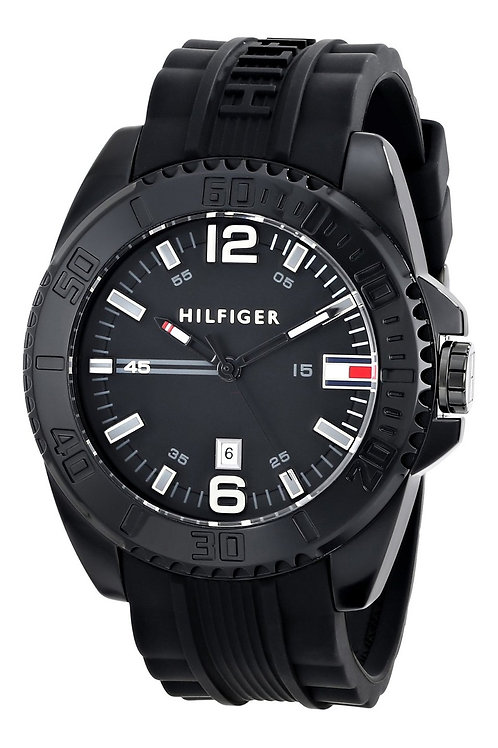 Tommy Hilfiger | Grant Chronograph Silicone Strap Watch