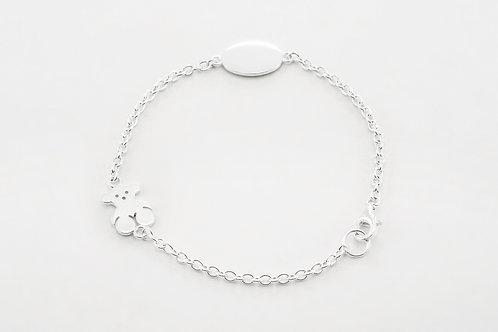 TOUS   Silver Bear Bracelet