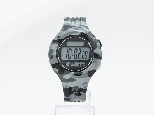ADIDAS | Performance Questra Grey Camo Silicone Chronograph Watch