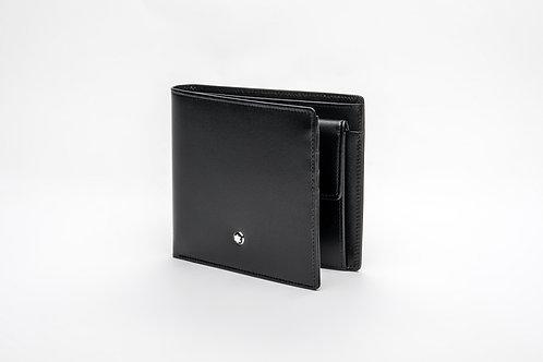 MONTBLANC | Meisterstuck Black Leather Wallet