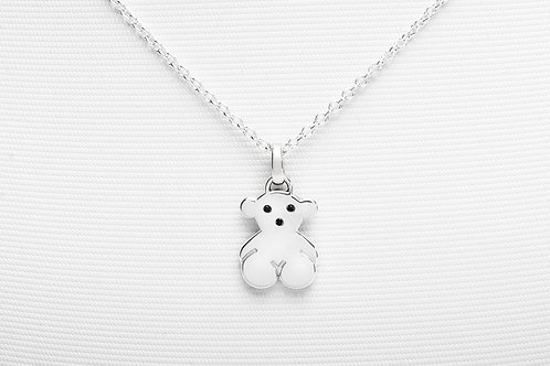 TOUS   Silver Sweet Dolls Necklace with Spinel