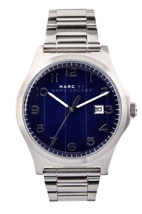 Marc by Marc Jacob   Jimmy Blue Dial Stainless Steel Men's Watch