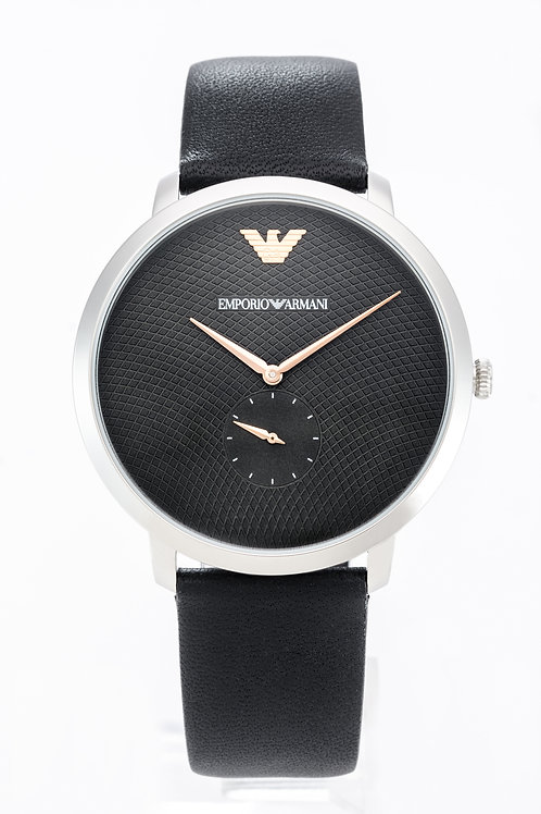 Emporio Armani   Modern Slim Three Hand Leather Watch