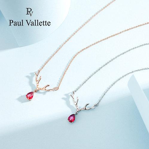 Paul Vallette -日系鹿形女士項鍊