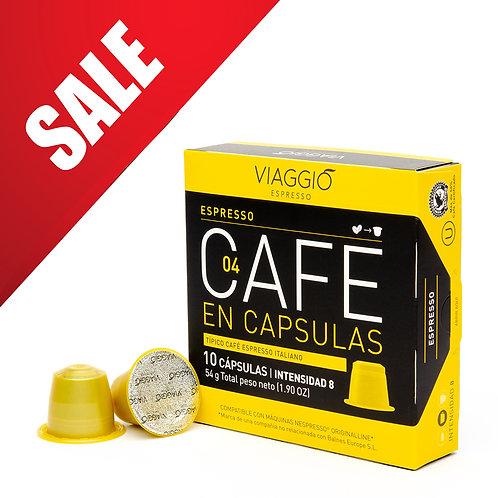 【MEGA SALES】04. Espresso Coffee Capsule A-04-F-10-M12