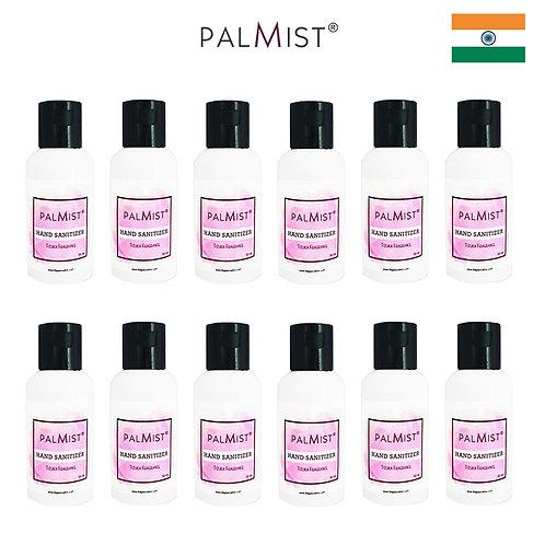 PALMIST - 免洗80%酒精搓手液50ml Tizuka香味 12枝裝