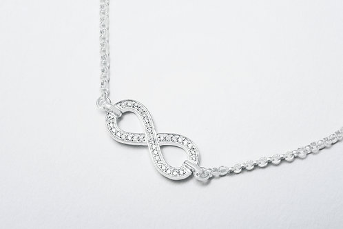 THOMAS SABO   Silver Heart Bracelet