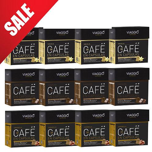 【Mega Sales】Mix Flavored | Coffee Capsules Pack(120 capsules) VEpackage-04