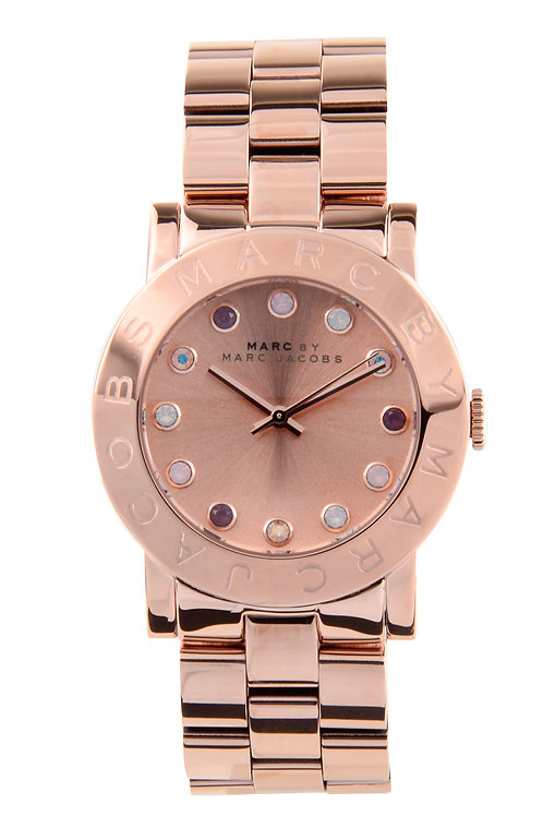 MARC JACOBS   Amy Texter Rose Dial Ladies Watch MBM3216